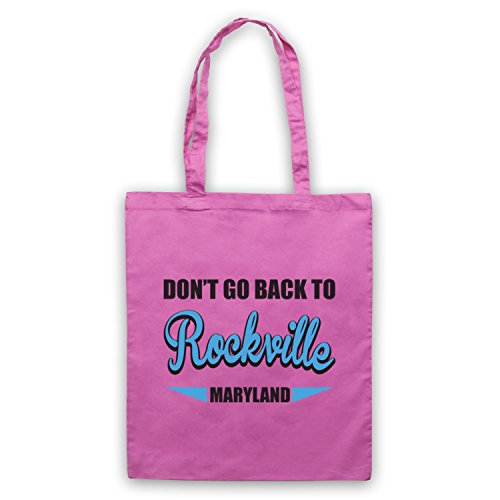 Inspiriert durch REM Rockville Inoffiziell Umhangetaschen Rosa