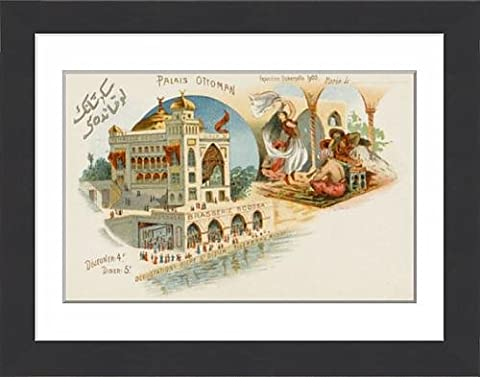 Framed Print of Ottoman Palace - Paris Exhibition