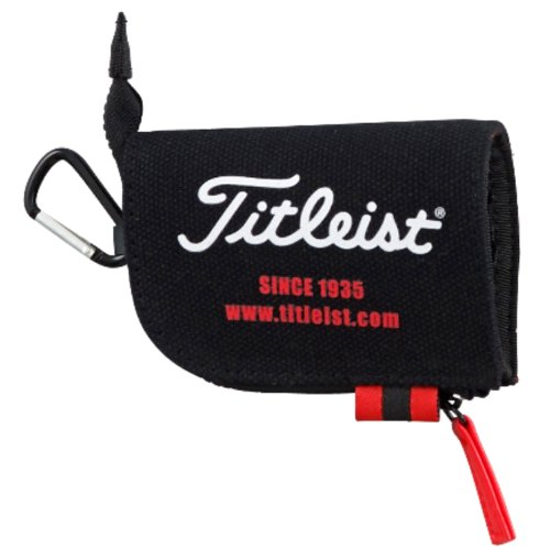 Titleist Golf Tee Case Small Pouch bag 2014 Model AJTE42 Black by Titleist