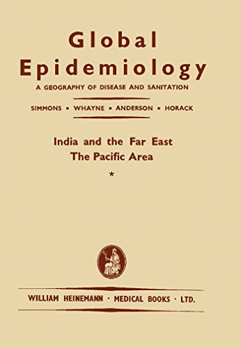 India And The Far East: A Geography Of Disease And Sanitation por James Stevens Simmons epub
