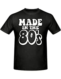 MADE IN THE 80's MEN'S T SHIRT, SIZES SMALL-XXXL