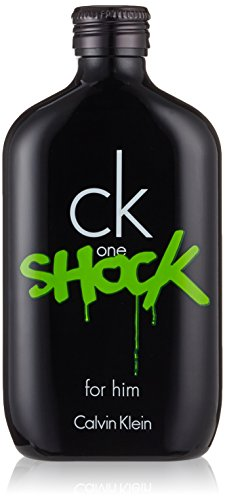 Ck one shock uomo di Calvin Klein - Eau de toilette Edt - Spray 200 ml.