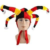 Oyanihin Famosos del fútbol de la Copa del Mundo Tiaras Algodón Países Bandera Color Adorno Fans del fútbol del Carnaval de Cuatro Puntas