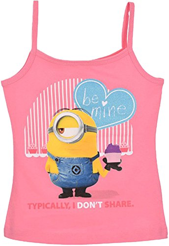 Universal Studios Minions Ich Einfach Unverbesserlich Trägershirt Pink 128 (8 Jahre)