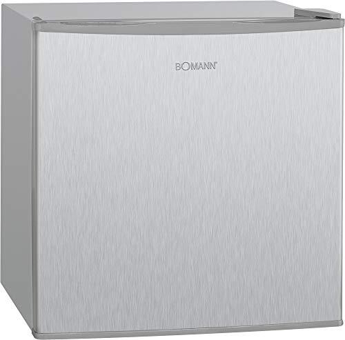 Bomann GB 341 freistehende Gefrierbox/geringer Energieverbrauch, Energieklasse A++ , wechselbarer Türanschlag, 4 Sterne-Gefrierraum, 51 cm Höhe, 31 Liter Gefrierteil, Kühlmittel R600a, silber