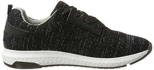 BULLBOXER Damen 067005f5t Sneaker Schwarz (Black)