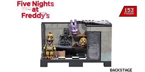 Image of Five Nights at Freddy's Construction Set Back Stage