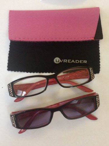 ladies-pink-jewelled-clear-and-sun-readers-dual-pack-power-250-by-uvspecs