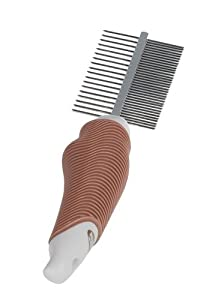 Nobby Starline Professional Grooming Range Double Comb for Dog/ Cat, 18 - 35 Teeth