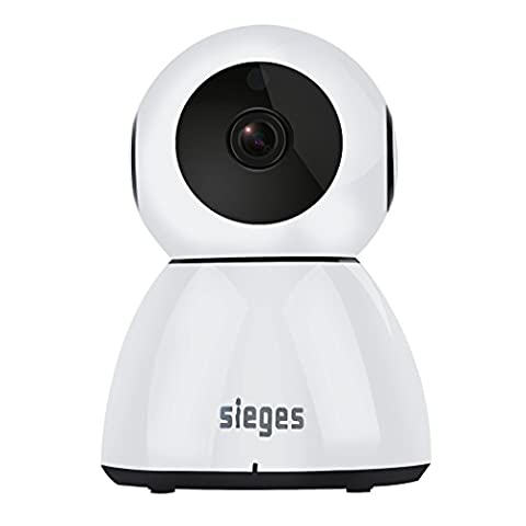 SIEGES HD 1080P Cloud Wireless WiFi IP Camera Home Security Surveillance System Motion detection Pan/Tilt Day Night Vision With IR-CUT Two-way Audio In Home Video Monitoring, Fit Pet / Baby monitoring, Nanny cam, Business monitoring,