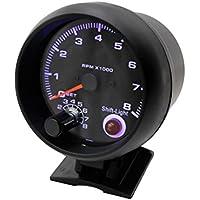 winomo Auto Tachometer Gauge Turbo Boost Gauge weißes Licht Universal Meter