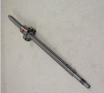 GOWE 3 supportato binari 16-500 SBR/1000/1,150 mm, Set 3 ballscrews RM1605 BK 3/3 per Innesto BF12 couplering CNC