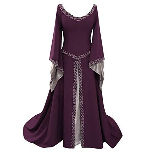 ff9832f0d60b9 TEBAISE Vêtements de Boutique de Mode Glamour Robe de Princesse de  Trompette Couleur Unie Style rétro