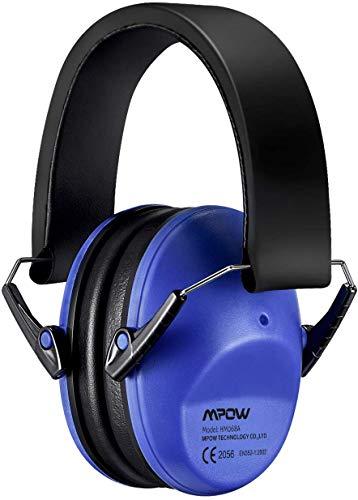 Mpow MPHP046AD BHMPHP046AD-DEAA1 068 SNR 29 dB, Faltbar komfortabel Gehörschutz Lärm bis 98dB, Lärmschutz Kopfhörer Konzert, Karneval oder Feuerwerk, Kinder von 3 bis 12 Jahren