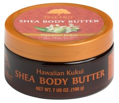 Tree Hut Shea Body Butter 7oz Hawaiian Kukui (2 Pack)