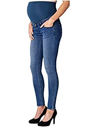 Noppies Damen Umstandsjeans Jeans Otb Skinny Avi Blue 70105