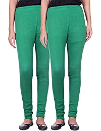 Belmarsh Warm Leggings - Pack of 2 (Green_Green)