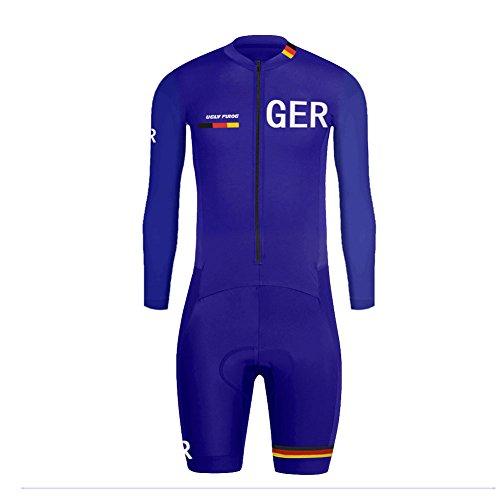 Uglyfrog Designs -Landesvorwahl Sport Radsport Trikots & Shirts Kurzarm with Kurze Beine Skinsuit+Gel PAD Herren Sommer Stil Bekleidung Flexibel Atmungsaktiv Clothes