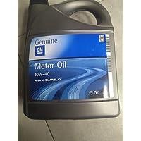 Garrafa de aceite lubricante para coche GM Opel 5W30 Dexos 2, 5 litros
