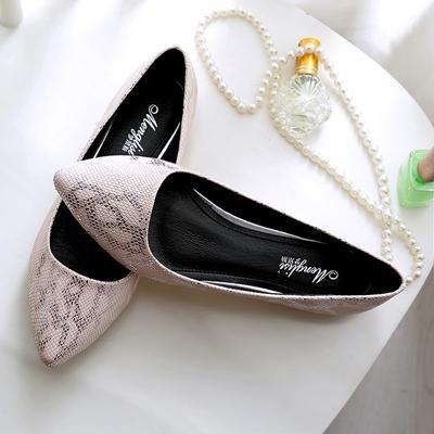&qq Appartement avec des chaussures professionnelles, chaussures plates pour femmes, scoop peu profond, chaussures antidérapantes femmes enceintes 37