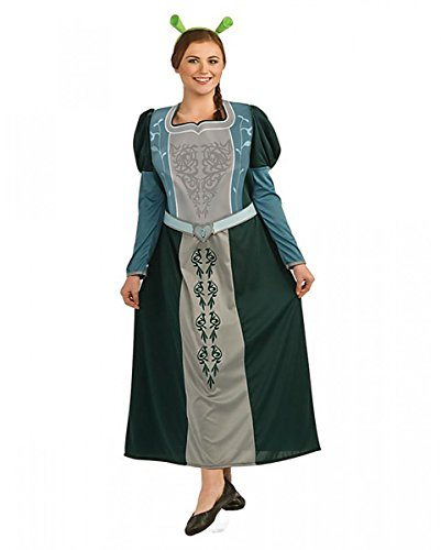 s Shrek der tollkühne Held Prinzessin Fiona Kostüm Plus Size (Fiona Oger Kostüm)