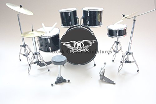 RGM376 Joey Kramer Aerosmith Miniaturschlagzeug (Aerosmith Sammlerstücke)