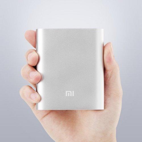 Xiaomi Portable Power Bank 10000mAh for Smartphones, Tablets, digital cameras - Silver
