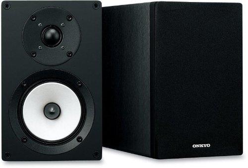 Onkyo D-055 Bassreflex-Lautsprecher (2-wege, bis 35KHz, 70 Watt) schwarz