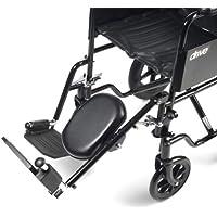 Drive Medical ELR001L Rollstuhl-Fußstütze/Fußerhöhung, Stahl, links