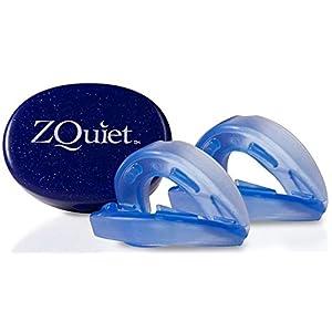 ZQuiet Anti-Schnarch-Schiene Set – 2 x Zahnschiene plus Snorepast Ratgeber zur Rückenlageverhinderung bei Schnarchen