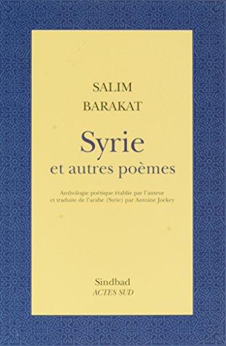 Syrie et autres poèmes