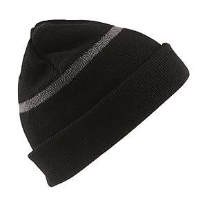 Result Headwear Wasserabweisende Skimütze bis -30°C Kälte RC033J , Farbe:Black