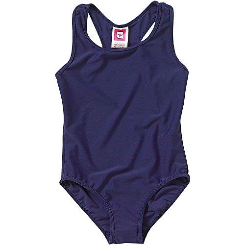 H2O Girls Plain Back To School Swimsuit