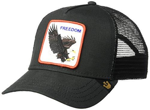 796248d550ce5 Goorin Bros. Men's Freedom Trucker Cap, Black, One Size