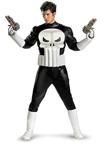 Disguise Punisher Kostüm für Erwachsene XL