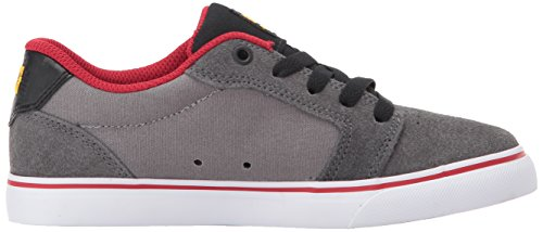 DC Unisex-Kind Amboss Schuhe Grey/Black/Red