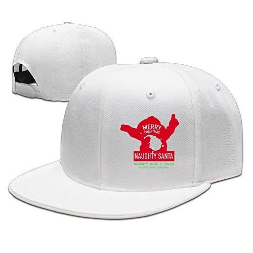 AOHOT Herren Damen Baseball Caps,Hüte, Mützen, Classic Baseball Cap, Naughty Humor Christmas Merry Christmas Caps Adjustable\r\n Snapback Hats Classic (Naughty Zombie Kostüm)