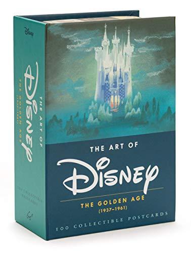 The Art of Disney - The Golden Age (1928-1961) Postcards - Usa-wand-kunst Karte Der