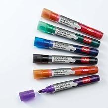 Nouvelle encre liquide Drymarkers Flip Chart marqueurs pour tableau blanc-Couleurs assorties-Lot de 12