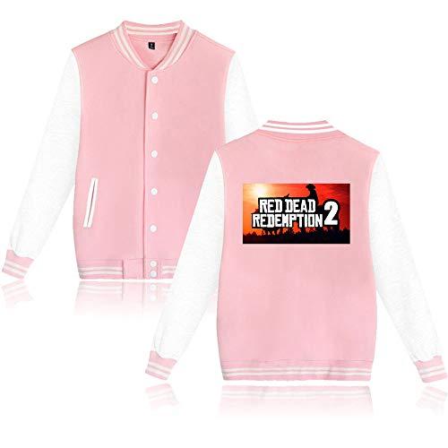 Preisvergleich Produktbild Red Dead Redemption 2 Kapuzenpullover Spielen Spiele Jacke Männer Harajuku Hip Hop Kpop Album Sweatshirts Männer