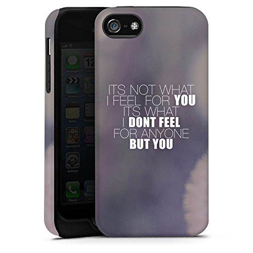 Apple iPhone X Silikon Hülle Case Schutzhülle Sprüche Love Pusteblume Liebe Tough Case matt