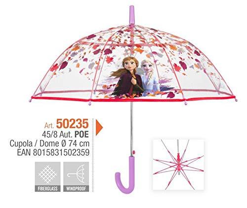 Perletti automatico frozen 2 45 cm ombrelli da bambino (personaggi), multicolore, 8015831502359