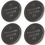 Multi Pack 4 X Panasonic CR2025 DL2025 3V Lithium Knopfzelle Batterien