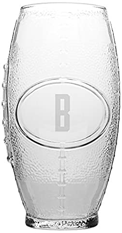 Cathy's Concepts Personalized Football Tumbler, Letter