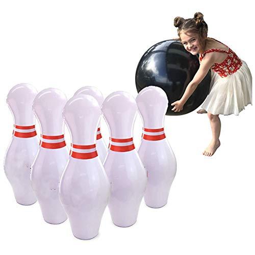Shopps Riesige aufblasbare Bowling-Spiel, umweltfreundliche PVC-sicher und ungiftig, für Menschen jeden Alters Outdoor-und Indoor-Spaß