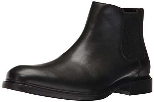 Kenneth Cole Herren Grand Scale Chelsea Boots, Schwarz (Black 001), 46 EU Kenneth Cole Herren-stiefel