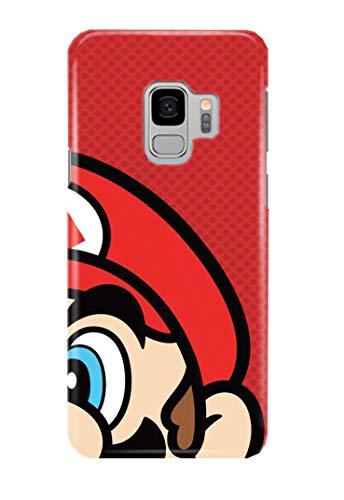 Case Me Up Handy Hülle für Samsung Galaxy S9 Super Mario Bros Luigi Old School Game 15 Designs