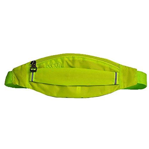 Multifunktionale Outdoor Fitness Sporttaschen Mehrfarbig Green