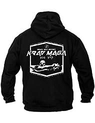 Dirty Ray Arts Martiaux Krav Maga Sweat homme avec capuche BDT12