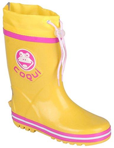 Boys Girls Kids Child Rainboots Coqui Ronie Boots Wellies